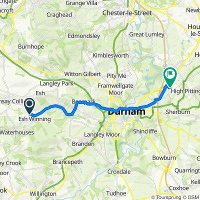 Priestburn Close 21, Esh Winning to Pittington Lane