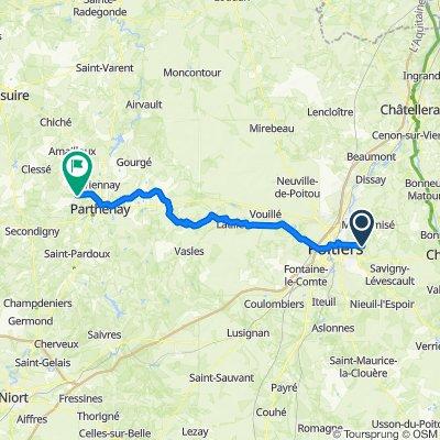 Poitiers 168 rte Bonnes - Guiardières