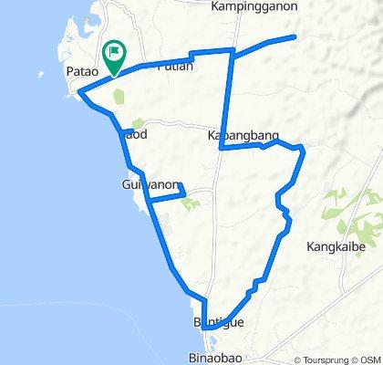 Putian Road, Bantayan to Putian Road, Bantayan