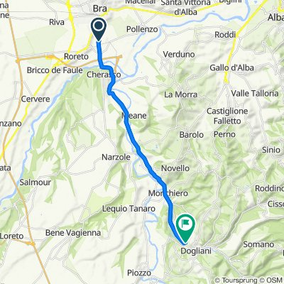 Da Bra - Via Langhe, Cherasco a Via Torino 118b, Dogliani