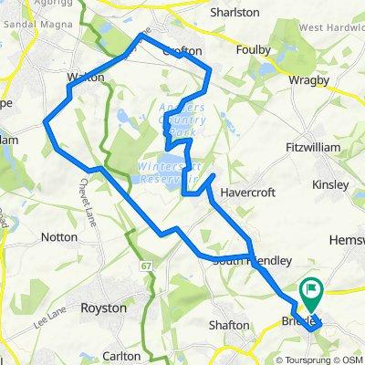 19 Spa Well Grove, Barnsley to 19 Spa Well Grove, Barnsley