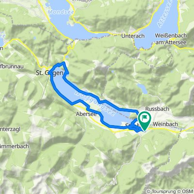 Wolfgangsee körtúra 2020-07-24