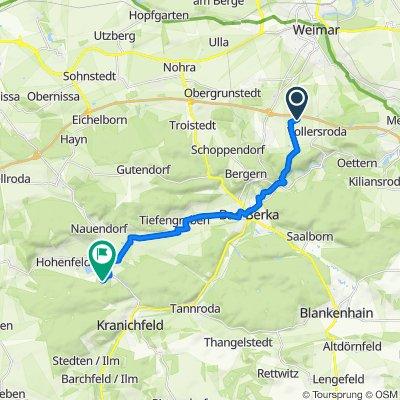 Easy ride in Kranichfeld