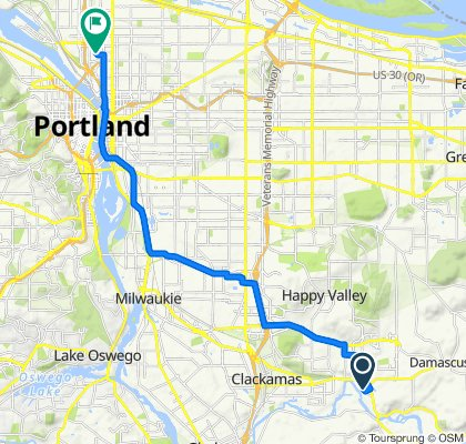 15329 SE Eckert Ln, Happy Valley to 3920 N Kerby Ave, Portland