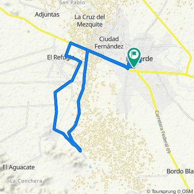 Paseo lento en Rioverde