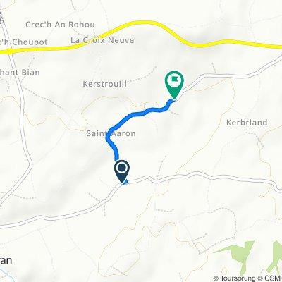 Route von D33, Pleumeur-Gautier
