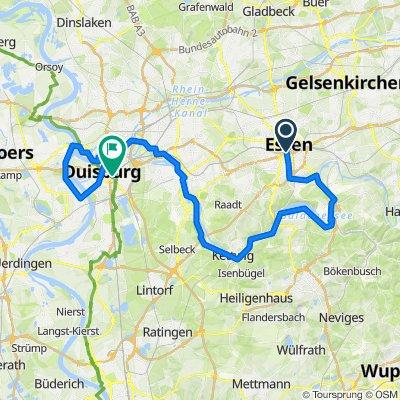 Radtour Essen-Duiesburg