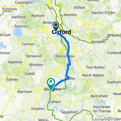 Oxford to Abingdon