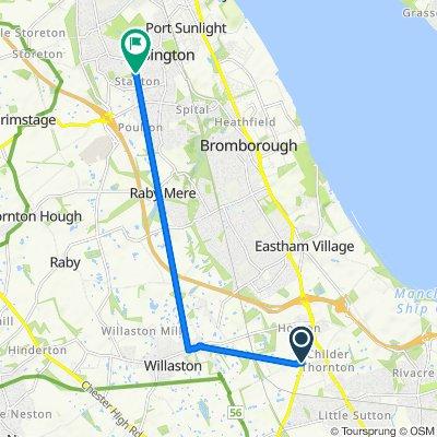 Welsh Road, Childer Thornton to Violet Croft 12, Bebington