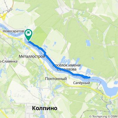 Restful route in Свердловское