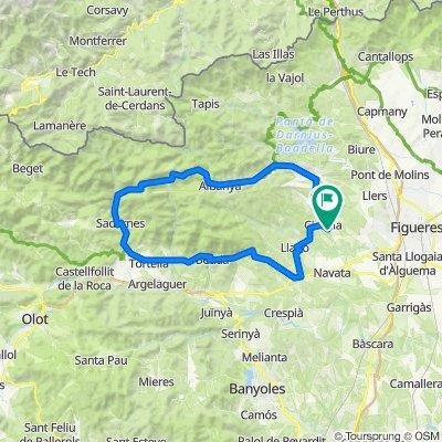 Cistella Sadernes 75km lus