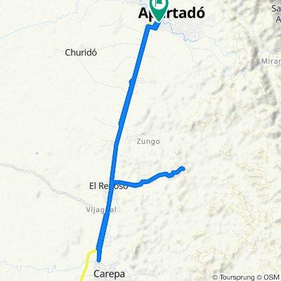 Blistering ride in Apartadó