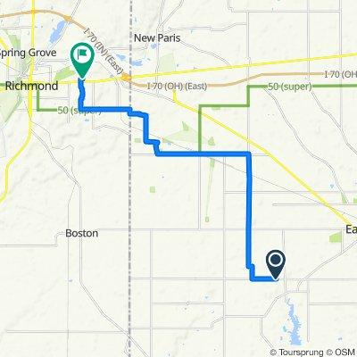 4000–4074 Concord Rd, Eaton to 3718 US-40 W, Richmond