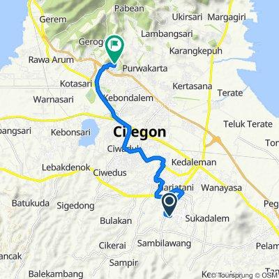 Jalan Raya Waringin Kurung 19, Waringinkurung to Jalan Lotus Jingga 39, Kecamatan Purwakarta