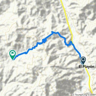 Ruta desde Carrera 8 1361, El Playon