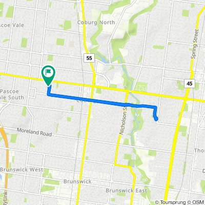 33 Shackell Street, Coburg to 35 Shackell Street, Coburg