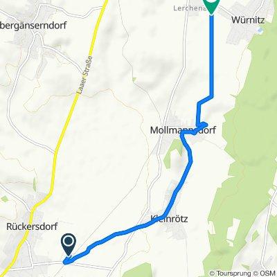 Bahnstraße 9, Harmannsdorf nach Mitterfeldgasse