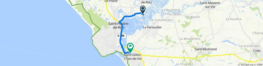 Steady ride in Saint-Gilles-Croix-de-Vie