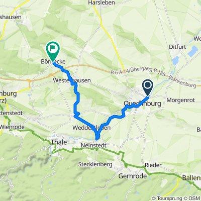 Quedlinburg Börnecke