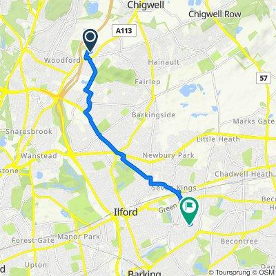 37 Latchingdon Gardens, Woodford Green to 66 Levett Gardens, Ilford