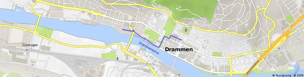 Drammen sentrum-X bike sykkelbutikk