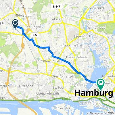 """Ein """"Couchpotato"""" durch die große Stadt Hamburg"""