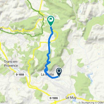 1047 Route de Bagnols, La Motte to D54, Figanières