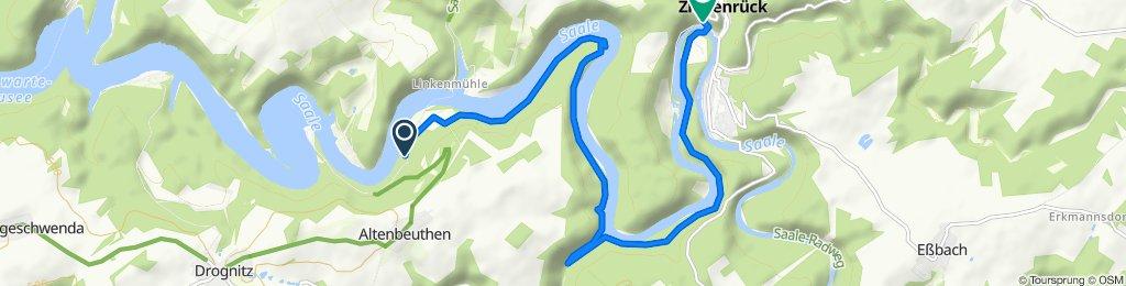Altenroth 4, Altenbeuthen nach Paskaer Straße 4, Ziegenrück