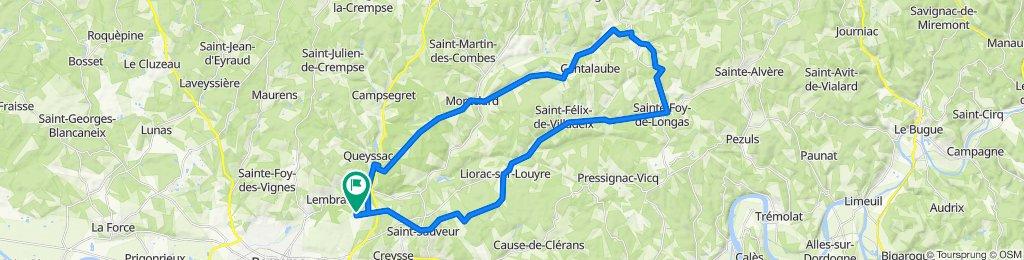 Chemin de Grand Jean 12, Creysse to Route de Pombonne 49, Creysse
