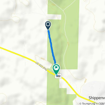 170–736 Station Rd, Shippenville to 394–498 Black Rd, Shippenville