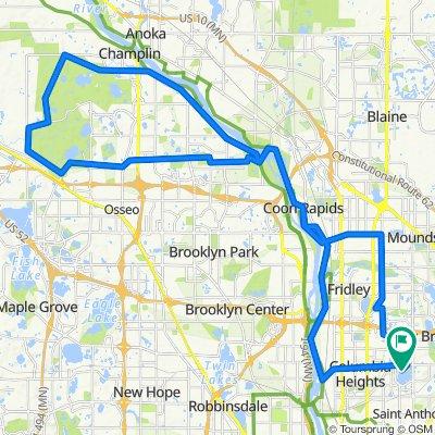 4200 Silver Lake Rd NE, St. Anthony to 4200 Silver Lake Rd NE, St. Anthony