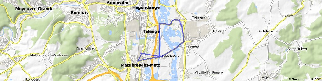 Maizieres - Ay - Ennery - Hauconcourt