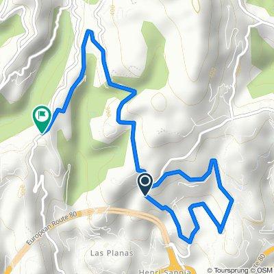 67bis Chemin de la Séréna, Nizza nach 23bis Route de Saint-Pancrace, Nizza