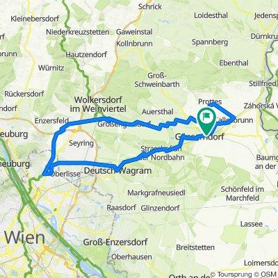 Erweiterte Dampfross und Drahtesel Tour von Gänserndorf startend