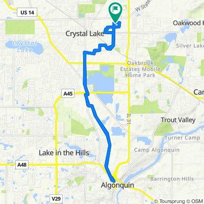 680 Silk Oak Ln, Crystal Lake to 680 Silk Oak Ln, Crystal Lake