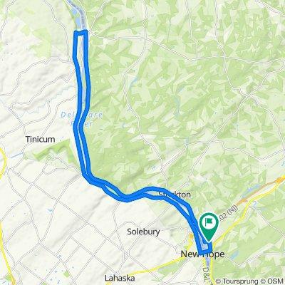 160 N Main St, Lambertville to 200 N Main St, Lambertville