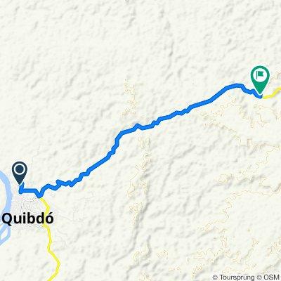 De Carrera 6 #42-75, Quibdó a Quibdó-Ciudad Bolívar
