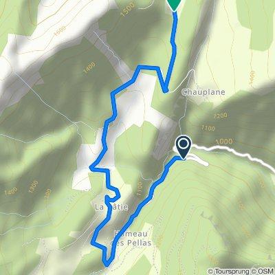 Restful route in Gresse-en-Vercors
