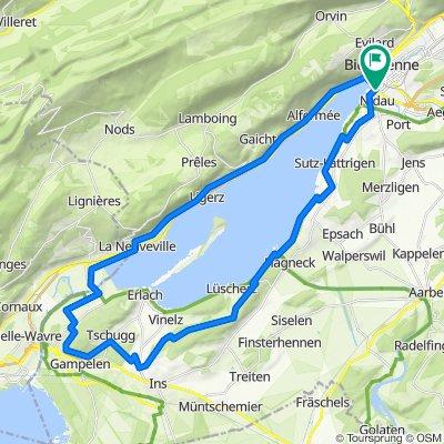 Monday Ride #3 Gravel Tour du lac