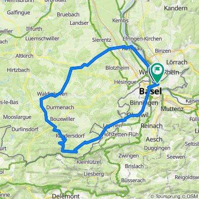 Steinsoultz, errette, Kniffs, 80km