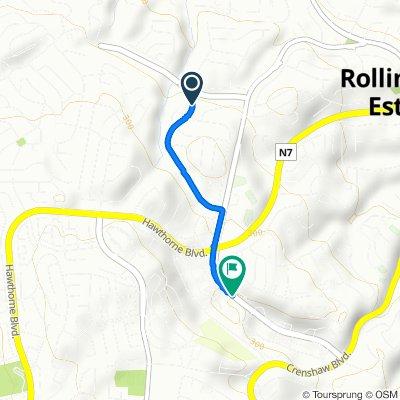 26527 Basswood Ave, Rancho Palos Verdes to 519–599 Silver Spur Rd, Rancho Palos Verdes
