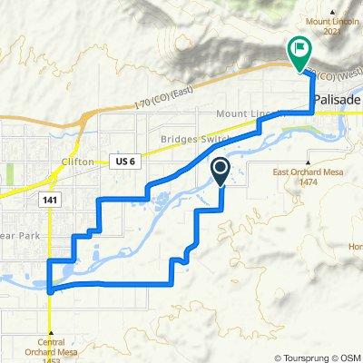 3517–3519 E 1/2 Rd, Palisade to 777 Grande River Dr, Palisade