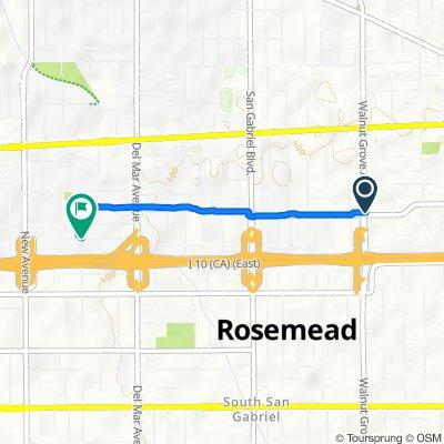 8607 Marshall St, Rosemead to 1970 Jackson Ave, San Gabriel