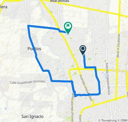 ruta oficina - te + casa