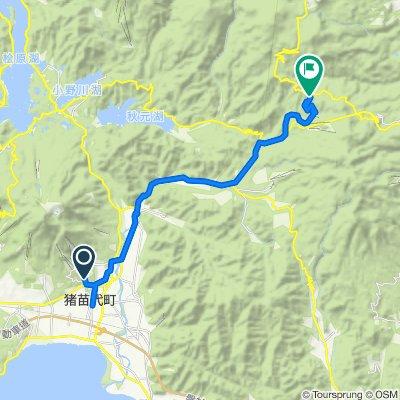 Day 11a Inawashiro to Washikurayama, 福島市