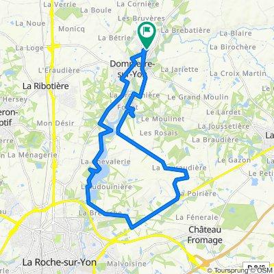 De 10 Rue Antoine de Saint-Exupéry, Dompierre-sur-Yon à 12 Rue Antoine de Saint-Exupéry, Dompierre-sur-Yon