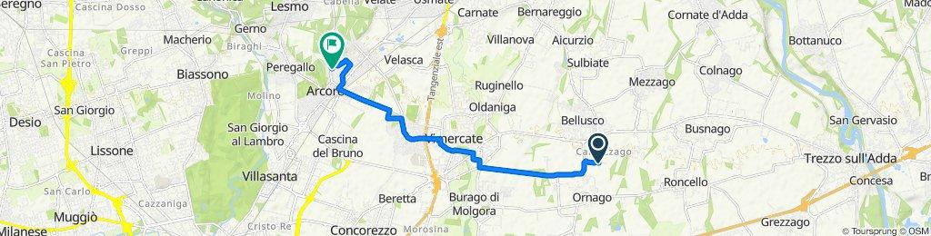 Da Via San Giuseppe 51, Cascina San Giuseppe a Via Marche 5, Arcore