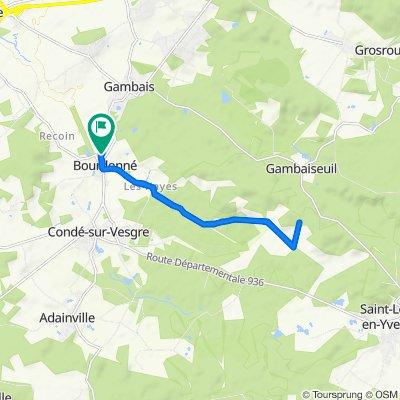 De 10 Chemin Saint-Aignan, Bourdonné à 8 Chemin Saint-Aignan, Bourdonné