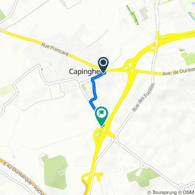 De 3 Rue de l'Église, Capinghem à 26 Cité des Broux, Ennetières-en-Weppes