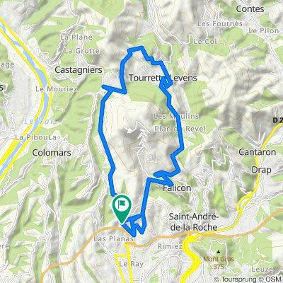 67bis Chemin de la Séréna, Nizza nach 67bis Chemin de la Séréna, Nizza